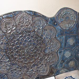 Artystyczna mozaika ceramiczna
