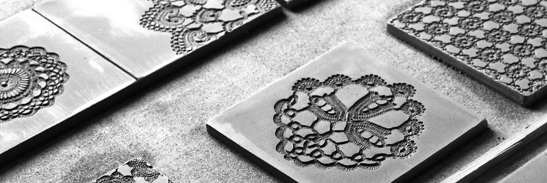 Ręcznie robione kafle i dekory